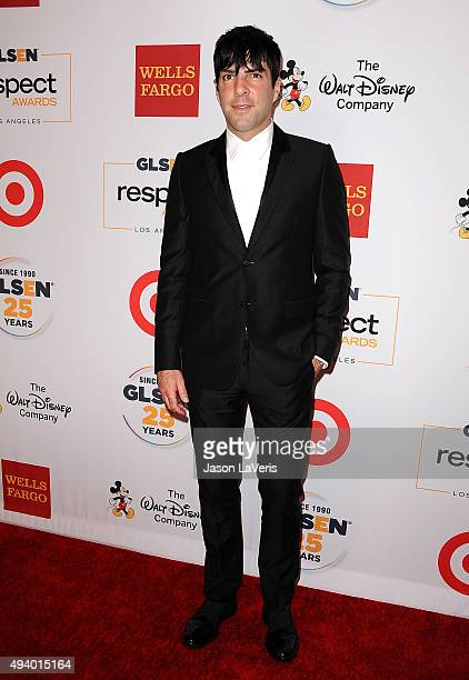 Actor Zachary Quinto attends the 2015 GLSEN Respect Awards at the Beverly Wilshire Four Seasons Hotel on October 23 2015 in Beverly Hills California