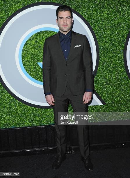 Actor Zachary Quinto attends the 2017 GQ Men Of The Year Party at Chateau Marmont on December 7 2017 in Los Angeles California