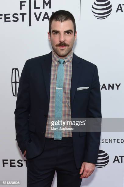 Actor Zachary Quinto attends the 2017 Tribeca Film Festival 'Aardvark' at SVA Theatre on April 21 2017 in New York City