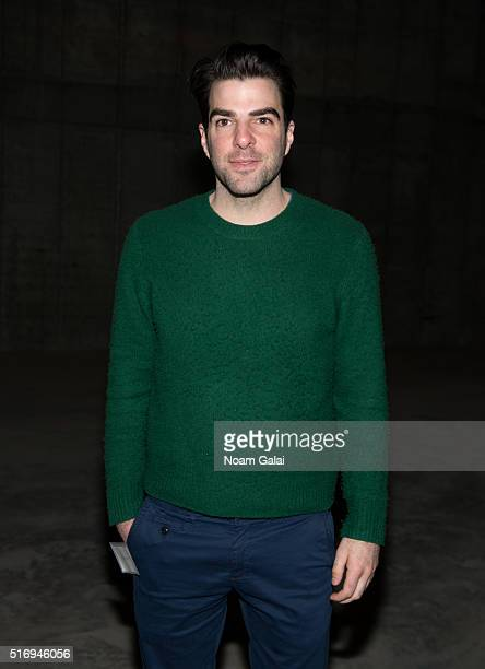 Actor Zachary Quinto attends the MCC Theater groundbreaking event on March 22 2016 in New York City