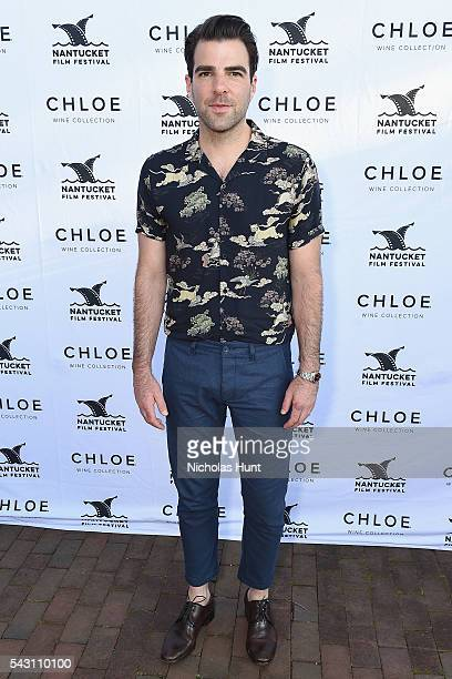 Actor Zachary Quinto attends the Screenwriters Tribute at the 2016 Nantucket Film Festival Day 4 on June 25 2016 in Nantucket Massachusetts
