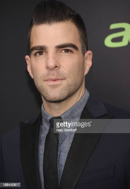 Actor Zachary Quinto attends the 'Star Trek Into Darkness' screening at AMC Loews Lincoln Square on May 9 2013 in New York City