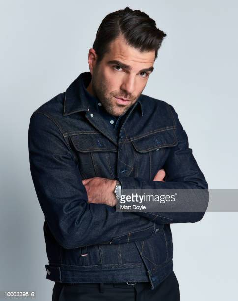 Actor Zachary Quinto is photographed for Back Stage on April 24 2018 in New York City PUBLISHED IMAGE