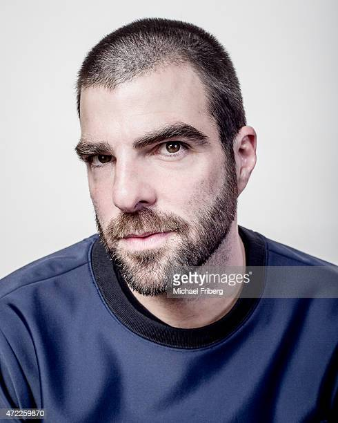 Actor Zachary Quinto is photographed for Variety on February 3 2015 in Park City Utah