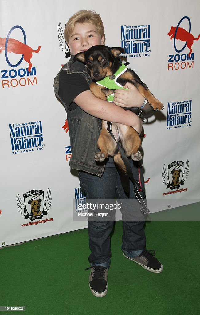 Actor Zachary Rice attends Hooray for Hollywoof! Grand Opening and Launch Party for Zoom Room at Zoom Room on February 16, 2013 in Sherman Oaks, California.