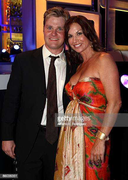 Actor Zachary Ty Bryan and Actress Debbie Dunning attend the 7th Annual TV Land Awards held at Gibson Amphitheatre on April 19 2009 in Unversal City...