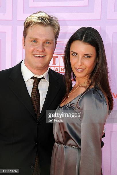 Actor Zachary Ty Bryan with guest arrive at the 7th Annual TV Land Awards held at Gibson Amphitheatre on April 19, 2009 in Universal City, California.