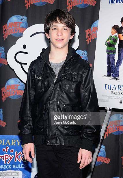 Actor Zack Gordon visits Planet Hollywood Times Square on March 16, 2011 in New York City.