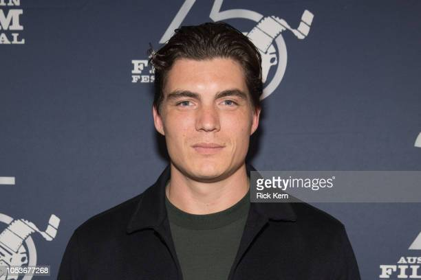 Actor Zane Holtz attends the 25th Annual Austin Film Festival premiere of 'Beyond the Night' at The Paramount Theatre on October 25 2018 in Austin...