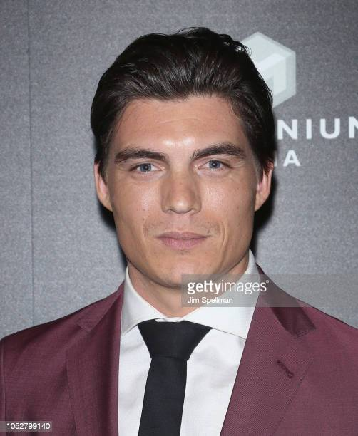 Actor Zane Holtz attends the world premiere of Hunter Killer hosted by Lionsgate at Intrepid SeaAirSpace Museum on October 22 2018 in New York City
