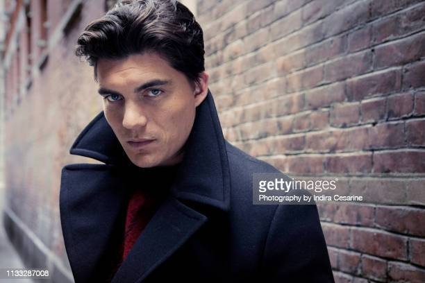 Actor Zane Holtz is photographed for The Untitled Magazine on October 22 2018 in New York City PUBLISHED IMAGE CREDIT MUST READ Indira Cesarine/The...