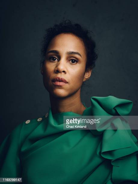 Actor Zawe Ashton is photographed for Deadline on January 27 2019 in Park City United States
