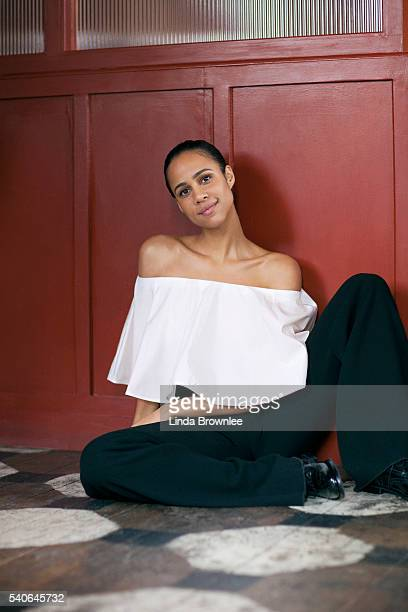 Actor Zawe Ashton is photographed for Vogue on November 2 2015 in London England