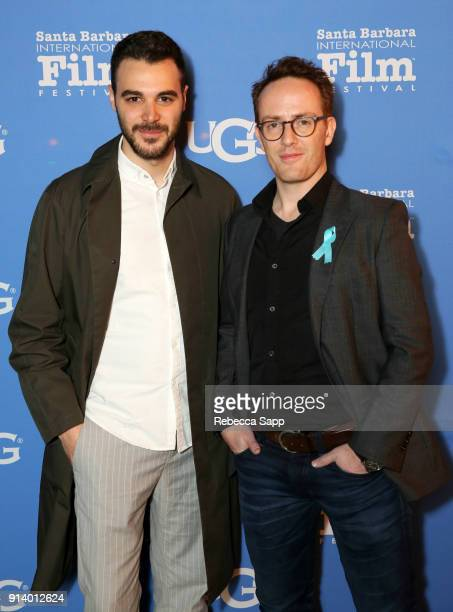 Actor Zayn Alexander and filmlmaker Andreas Monies at the Virtuosos Award Presented By UGG during The 33rd Santa Barbara International Film Festival...