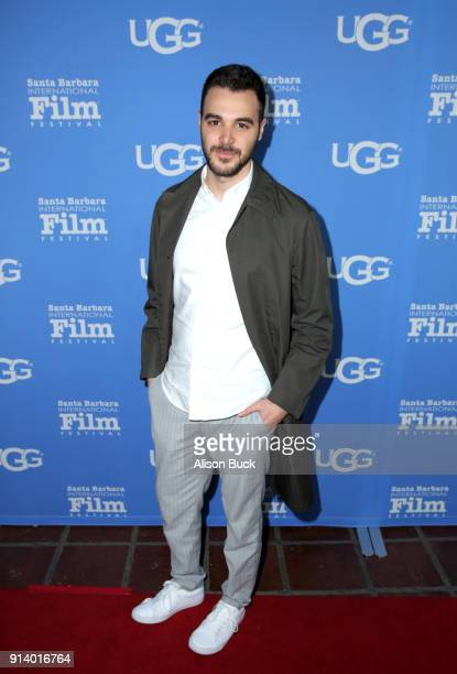 Actor Zayn Alexander at the Virtuosos Award Presented By UGG during The 33rd Santa Barbara International Film Festival at Arlington Theatre on...