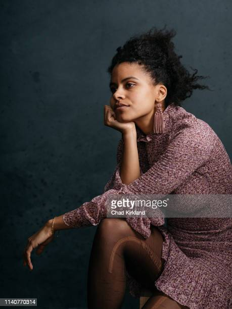 Actor Zazie Beetz is photographed for Deadline on January 26, 2019 in Park City, United States.