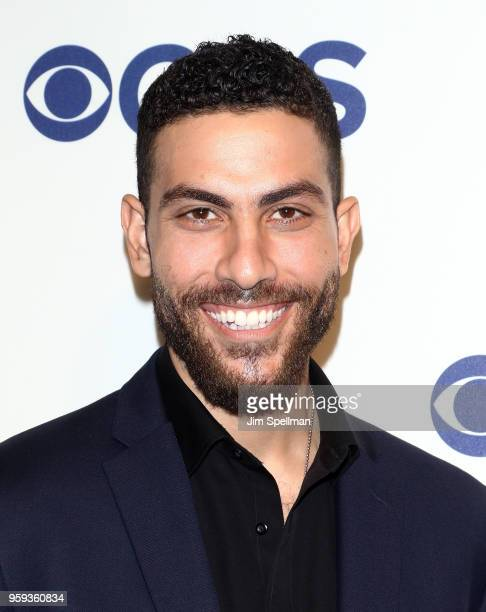 Actor Zeeko Zaki attends the 2018 CBS Upfront at The Plaza Hotel on May 16 2018 in New York City