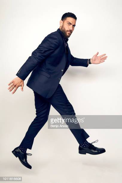 Actor Zeeko Zaki of CBS's 'FBI' poses for a portrait during the 2018 Summer Television Critics Association Press Tour at The Beverly Hilton Hotel on...