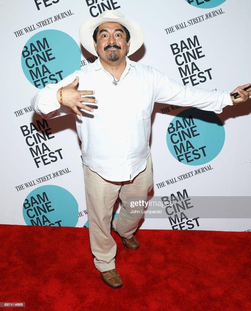 Actor Zenin Zeferino attends 'En El Septimo Dia' centerpiece screening during BAMcinemaFest 2017 at BAM Harvey Theater on June 18, 2017 in New York City.