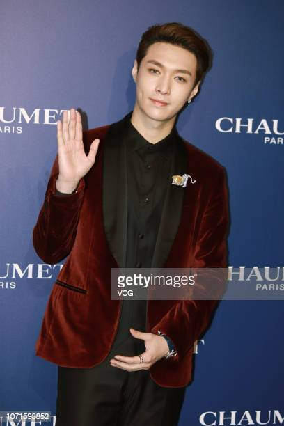 Actor Zhang Yixing attends Chaumet event on November 23 2018 in Shanghai China