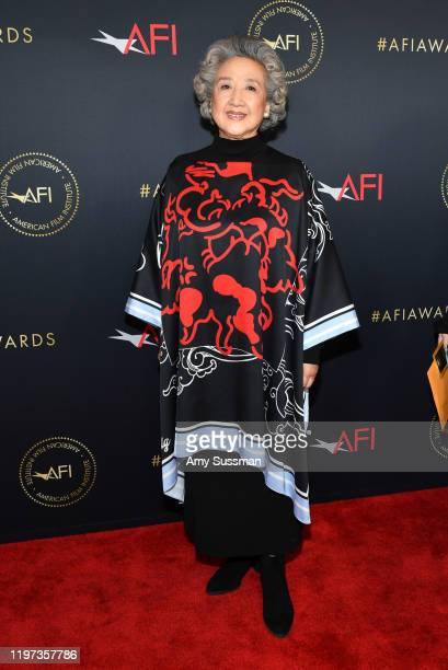 Actor Zhao Shuzhen attends the 20th Annual AFI Awards at Four Seasons Hotel Los Angeles at Beverly Hills on January 03 2020 in Los Angeles California