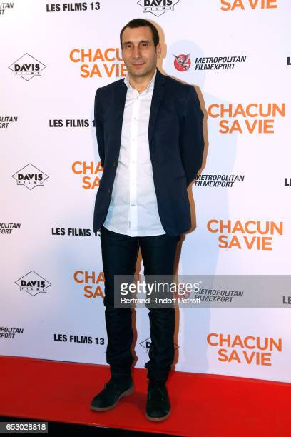 Actor Zinedine Soualem attends the 'Chacun sa vie' Paris Premiere at Cinema UGC Normandie on March 13 2017 in Paris France