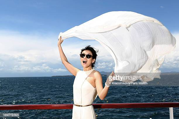 Actor Ziyi Zhang is photographed for Paris Match on May 17 2013 in Cannes France