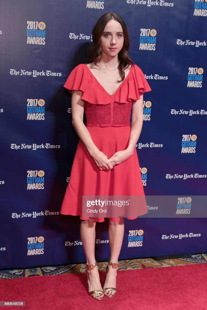 Actor Zoe Kazan attends IFP's 27th Annual Gotham Independent Film Awards on November 27, 2017 in New York City.