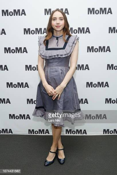 Actor Zoe Kazan attends MoMA's Contenders screening of The Ballad of Buster Scruggs at MoMA Titus One on December 19 2018 in New York City