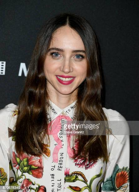 Actor Zoe Kazan attends the 21st Annual Hollywood Film Awards at The Beverly Hilton Hotel on November 5 2017 in Beverly Hills California