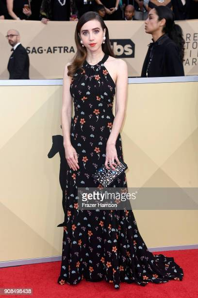 Actor Zoe Kazan attends the 24th Annual Screen Actors Guild Awards at The Shrine Auditorium on January 21 2018 in Los Angeles California