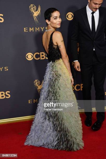 Actor Zoe Kravitz attends the 69th Annual Primetime Emmy Awards at Microsoft Theater on September 17 2017 in Los Angeles California