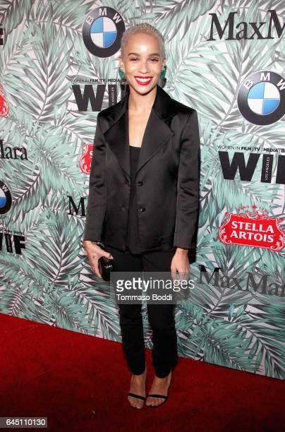 Actor Zoe Kravitz attends the tenth annual Women in Film PreOscar Cocktail Party presented by Max Mara and BMW at Nightingale Plaza on February 24...