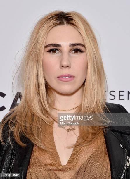Actor Zosia Mamet attends 'The Boy Downstairs' Premiere during the 2017 Tribeca Film Festival at SVA Theatre on April 23, 2017 in New York City.