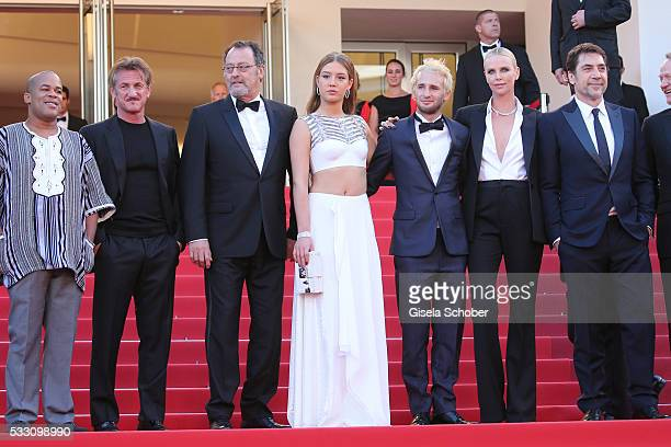 Actor Zubin Cooper director Sean Penn actor Jean Reno actress Adele Exarchopoulos actor Hopper Penn actress Charlize Theron and actor Javier Bardem...