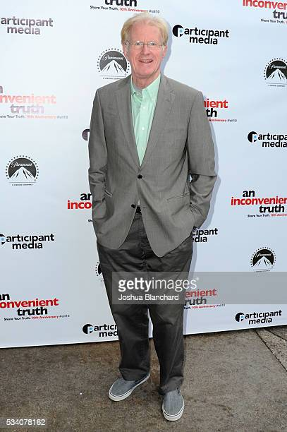 Actor/Activist Ed Begley Jr arrives at the 10th Anniversary Of An Inconvenient Truth at Smogshoppe on May 24 2016 in Los Angeles California