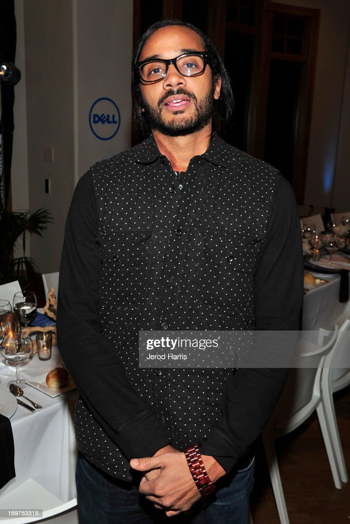 ActorAndres Des Rochers attends drink and dine with Dell and #Inspire 100 Honorees at Sundance Film Festival on January 19, 2013 in Park City, Utah.