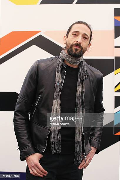 Actor/artist Adrien Brody attends the 2016 Frieze Art Fair: New York at Randall's Island on May 4, 2016 in New York City.