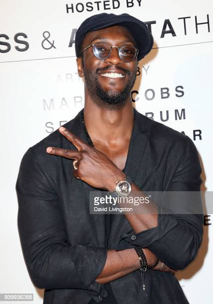 Actor/artist Aldis Hodge attends Art with a Cause hosted by Shaun Ross Aureta benefiting the Freedom United Foundation for the victims of human...