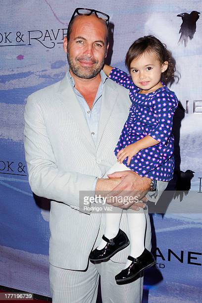 Actor/artist Billy Zane and daughter Ava Katherine Zane attend the artist's reception for Billy Zane's solo art exhibition Seize The Day Bed on...