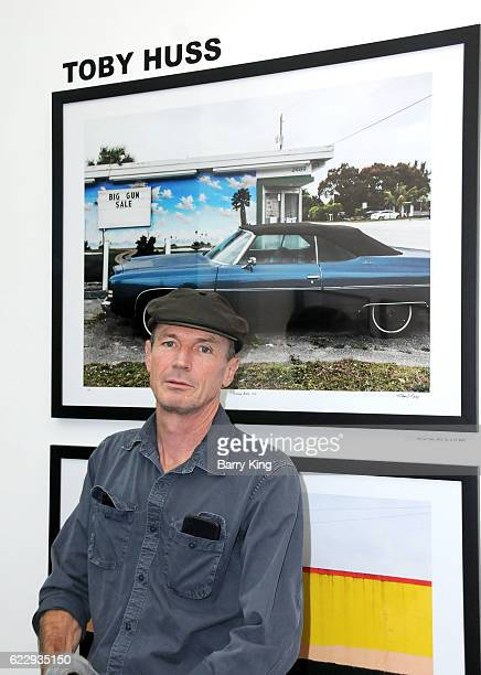 Actor/artist Toby Huss attends 'Hindsight Is 30/40 A Group Photographer Exhibition' at The Salon at Automatic Sweat on November 12 2016 in Los...