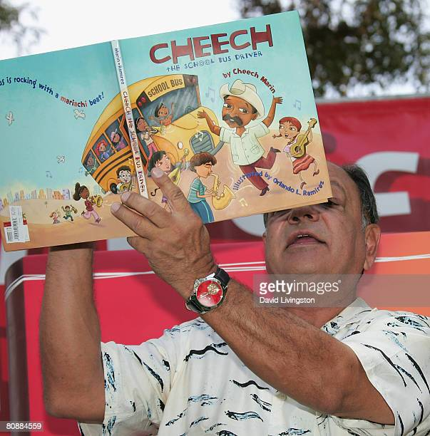 Actor/author Cheech Marin attends the 13th annual Los Angeles Times Festival of Books at UCLA on April 27 2008 in Los Angeles California