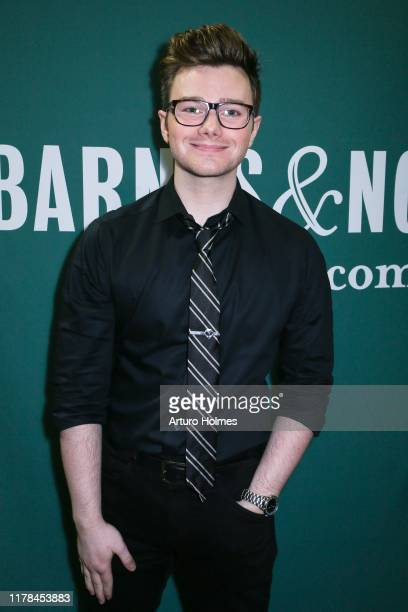 Actor/author Chris Colfer attends a signing event for his new book A Tale of Magic at Barnes Noble Union Square on October 01 2019 in New York City