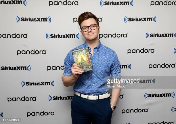 Actor/author Chris Colfer visits SiriusXM Studios on October 2 2019 in New York City