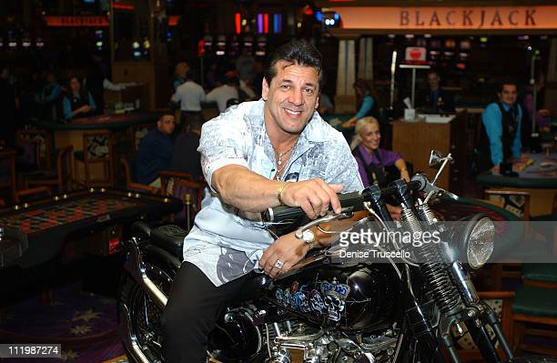 Actor/author Chuck Zito at The Hard Rock Hotel and Casino