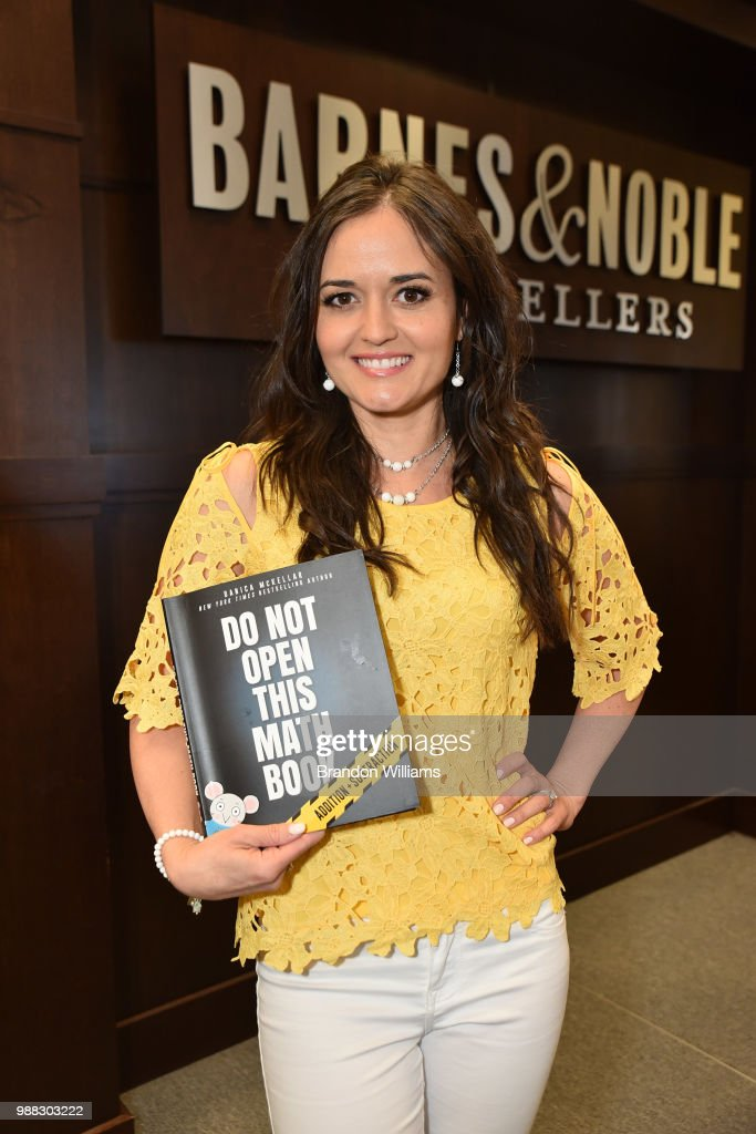 "Danica McKellar Celebrates Her New Book ""Don't Open This Math Book"""