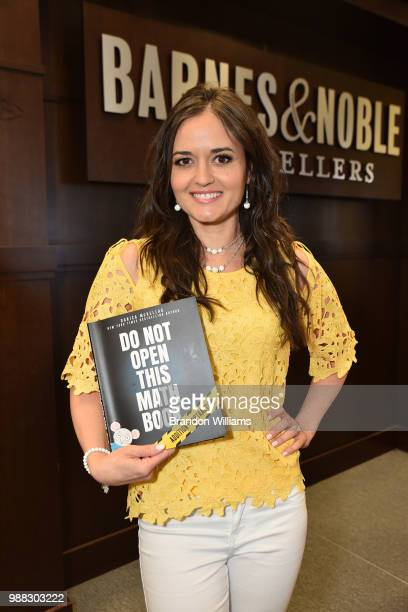 Actor/author Danica McKellar celebrates her new book Don't Open This Math Book at Barnes Noble at The Grove on June 30 2018 in Los Angeles California