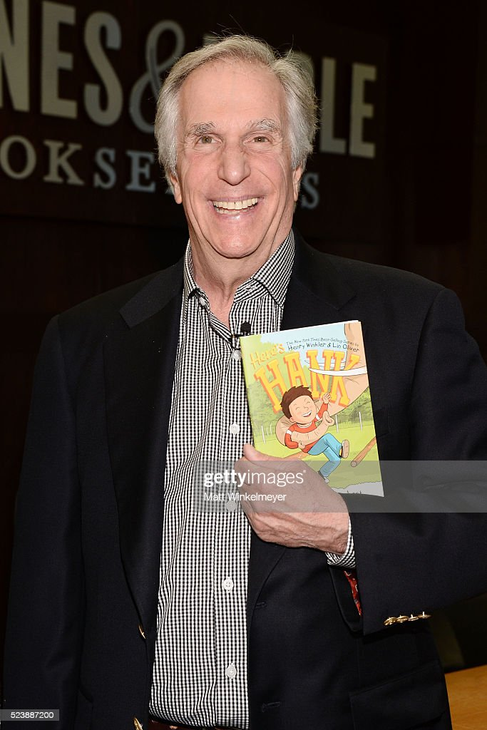 "Henry Winkler Book Signing For ""You Can't Drink A Meatball Through A Straw #7"""