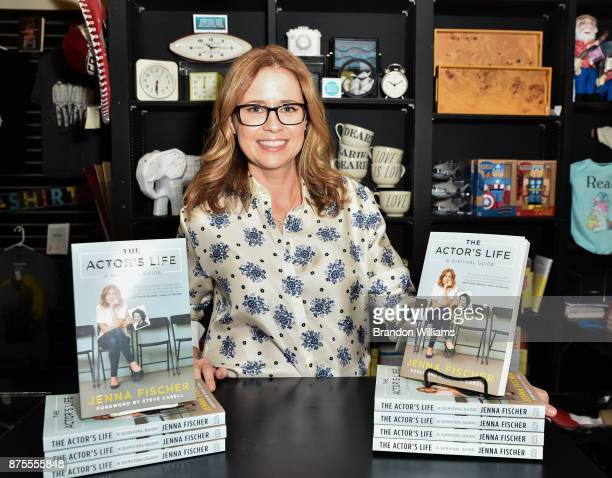 Actor/author Jenna Fischer at the signing of her book 'The Actor's Life' at Book Soup on November 17 2017 in West Hollywood California