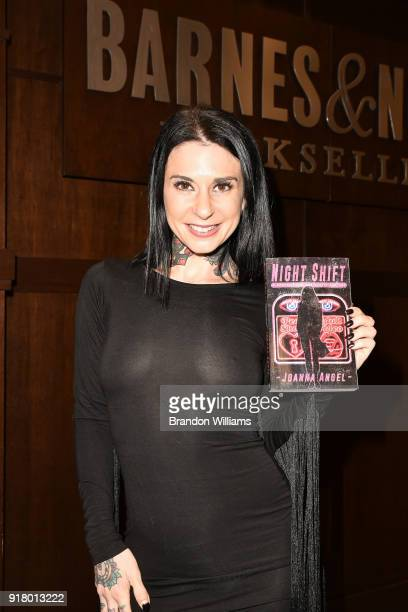 Actor/Author Joanna Angel at the signing of her book Night Shift at Barnes Noble at The Grove on February 13 2018 in Los Angeles California